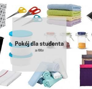 Pokój dla studenta za 100zł – Studia #2 | Hiacynt w doniczce`