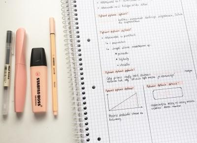 Jak robić minimalistyczne notatki na studiach? | Hiacynt w doniczce