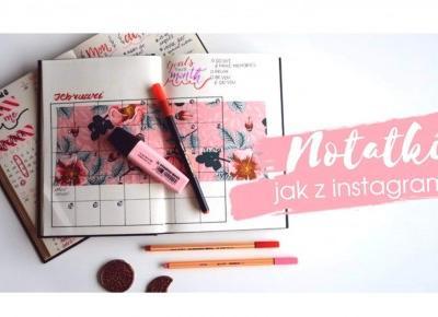 Notatki rodem z instagrama! Jak je zrobić?