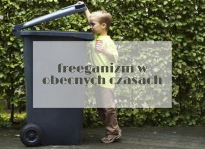 freeganizm w obecnych czasach