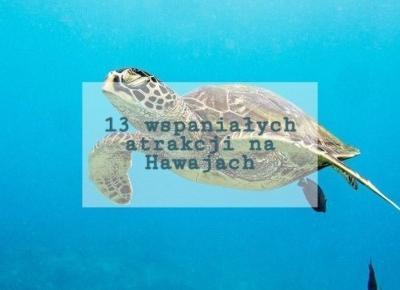 13 wspaniałych atrakcji na Hawajach