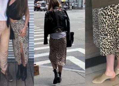 Ta spódnica z Zary jest tak popularna, że posiada własne konto na Instagramie