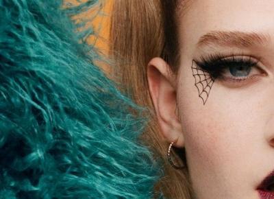 H&M i jego propozycja holloweenowego make-up'u dla niej!