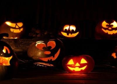 Wzory jak wyciąć dynie na halloween!