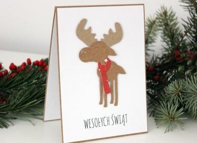 5 pomysłów na Świąteczną Kartkę