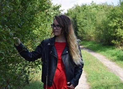 Czerwona sukienka  |  Simply my life