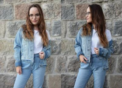 Jeansowy total look         |          Simply my life