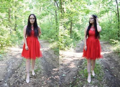 Zagubiona księżniczka w czerwonej sukience | Second Hand | Just Look Good