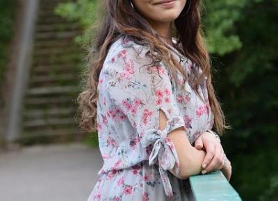 Sukienka w kwiaty          |          Simply my life