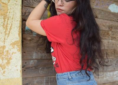 Stylizacja inspirowana koszulką Honda Vintage Elisnore | Enduro7 | Simply my life