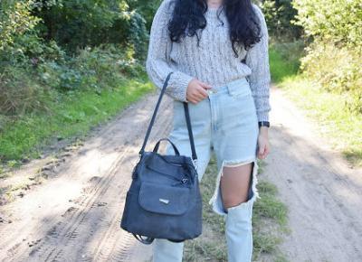 Stylizacja zainspirowana miejskim plecakiem | Pariso          |          Simply my life