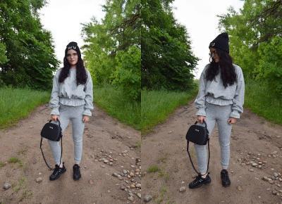 FemmeLuxe - szary komplet Amora         |          Simply my life