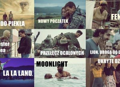 Nominacje do Oscarów 2017 - ielgrey.pl