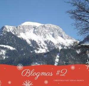 BLOGMAS #2 - CHRISTMAS GIFT IDEAS   BONUS