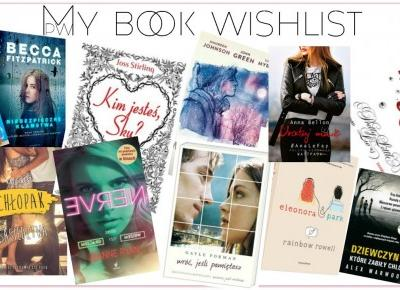 BLOGMAS #2 - My book wishlist