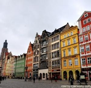 Wrocław- rynek staromiejski, czyli piękne kolorowe kamienice i wiele więcej!