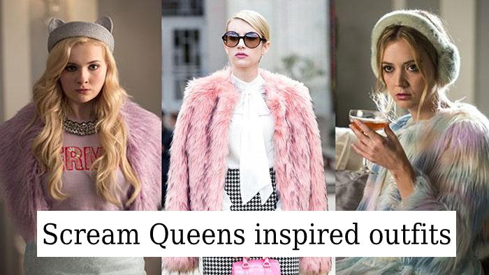 Scream Queens inspired outfits