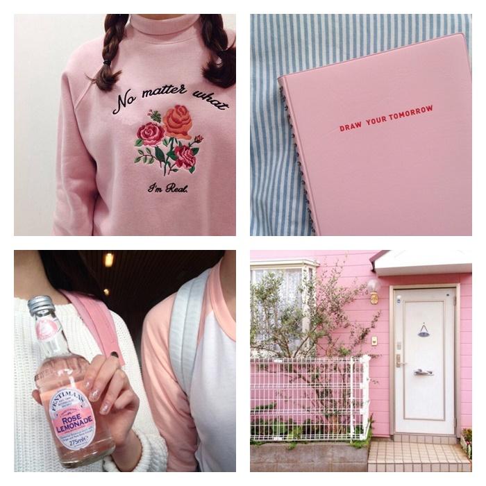 Inspirations : pastel pink