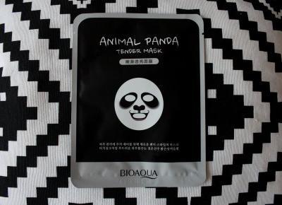 Aliexpress test: maska w płachcie panda Bioaqua