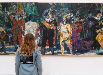 Wystawa malarstwa Juliusza Joniaka w Pałacu Sztuki w Krakowie
