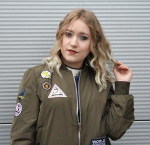 Rose Gal bomber jacket review