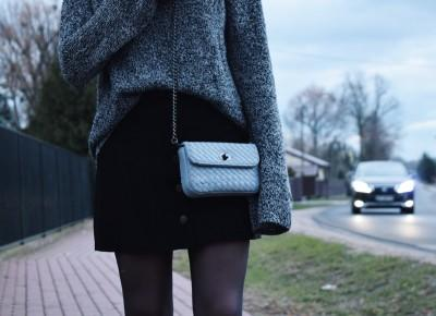Gamiss skirt & Zaful bag - IMMHFashionBlog