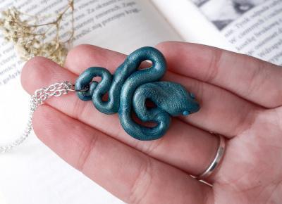 Wężowy naszyjnik - Spalona Artystka - rękodzieło | Facebook