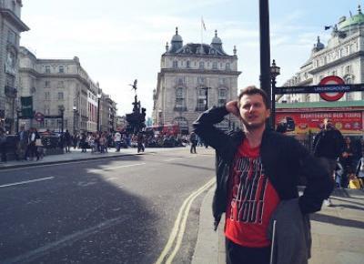 Paweł Trenuje: Sikałem do Tamizy - Czyli moja Lońdyska przygoda [LifeStyle]