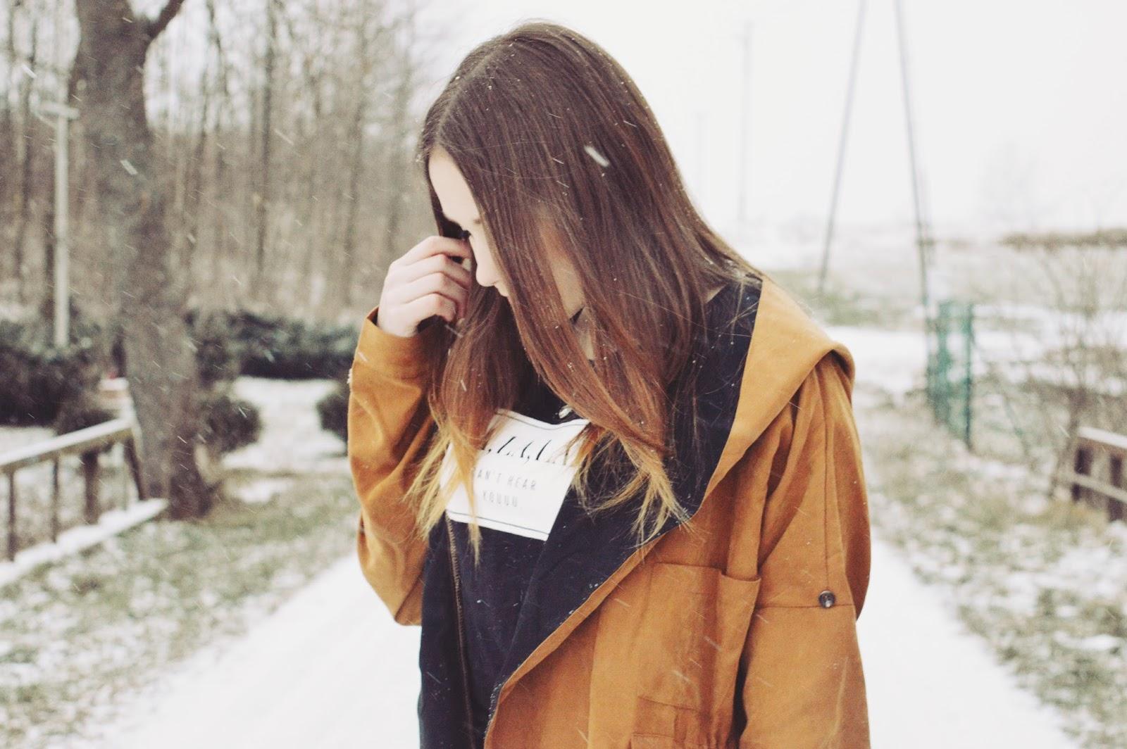 Aleksandra Kojder: 2016 please be good | Camel Hooded Pockets Coat