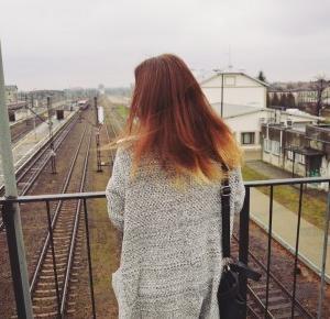 Aleksandra Kojder: To jest Twoje życie   Grey long cardigan