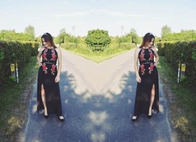Aleksandra Kojder - spełniaj swoje marzenia: Powiedz tak nowym przygodom   Shein x Embroidered Rose Dress