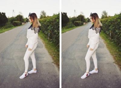Aleksandra Kojder - spełniaj swoje marzenia: Każdy człowiek jest lekcją | Rosegal x Black vs White Outfit