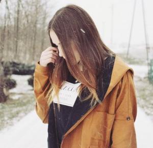 Aleksandra Kojder: 2016 please be good   Camel Hooded Pockets Coat