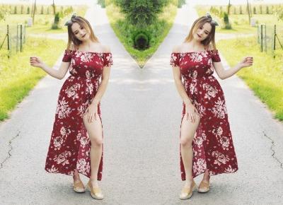 Aleksandra Kojder - spełniaj swoje marzenia: Dalekowzroczność | Sammydress x Floral print romper