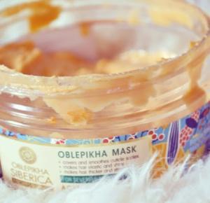 NATURA SIBERICA Rokitnikowa Maska do Bardzo Zniszczonych Włosów - Like a porcelain doll