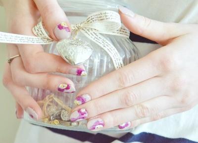 Wiosenne pazury z Neonail i Semilac  - Like a porcelain doll