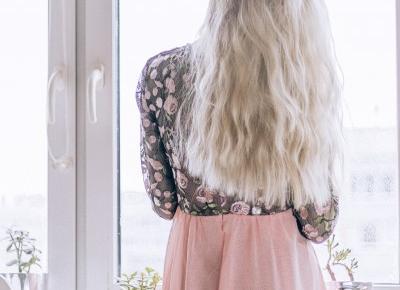 Zwiewna sukienka maksi od Shein - Porcelaindoll