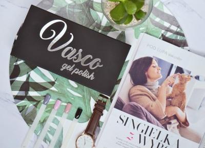 Vasco gel polish - nowa marka lakierów hybrydowych na polskim rynku - Like a porcelain doll