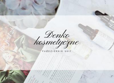 Denko październik 2017 - Like a porcelain doll