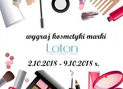 Czerwona Strona Nieba: Wygraj kosmetyki marki Loton!