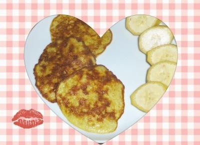 Placki bananowe. Słodkie fit śniadanie. – Przepisy