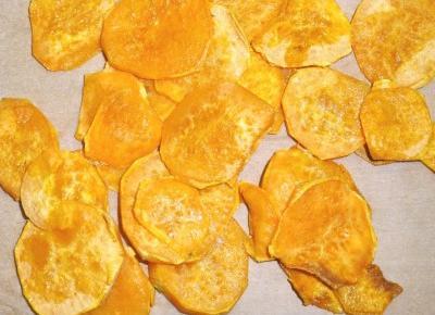 Chipsy z batatów. Zdrowa przekąska. – Przepisy