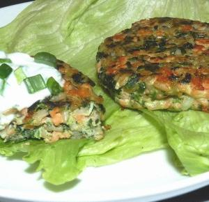 Przepis rybny. Burger z łososia ! - Work it girl