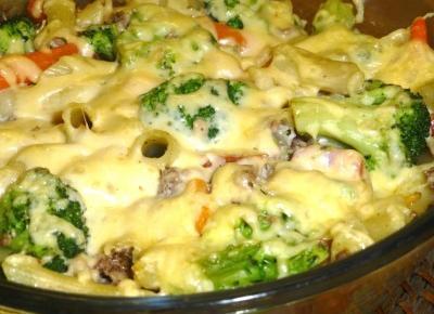 A na obiad mięsno – warzywna zapiekanka z makaronu! – Przepisy