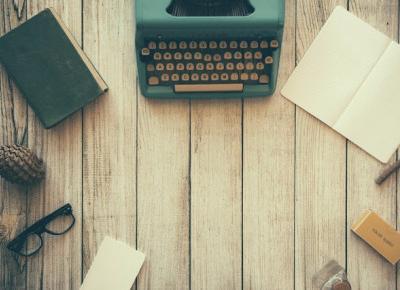 Każda podróż zaczyna się od pierwszego kroku czyli pierwsze razy wielkich pisarzy.  ~ Pozycje Obowiązkowe