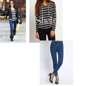 JASMINEN GIRL: Get the look: casual looks stars