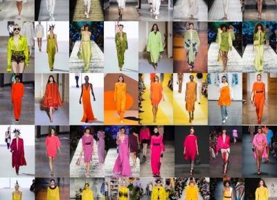 Modne kolory [wiosna-lato 2017] - Moda - ELLE.pl - trendy jesień zima 2016 2017: modne fryzury, buty, manicure