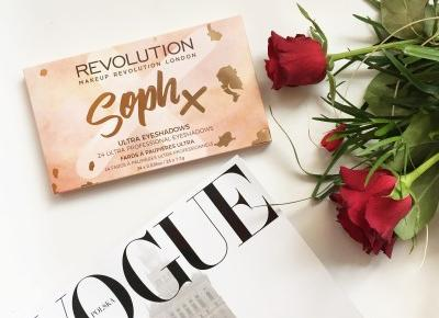 Makeup Revolution Soph X - paletka idealna? | Jednafiga Blog