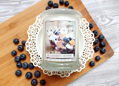 Jagodowa muffinka od Kringle Candle | Jednafiga Blog