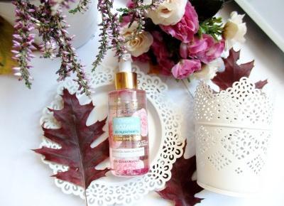 różany olejek myjący Bielenda | Jednafiga Blog